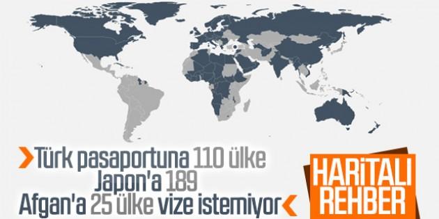 Dünya'nın en güçlü pasaportları listesi. Türkiye ise…