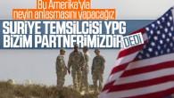 ABD'den terör örgütü 'YPG – PKK' itirafı