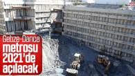 Gebze-Darıca metro açılış için tarih netleşti