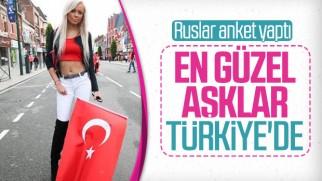 Rus turistlere yapılan aşk anketinde ve sonuçları