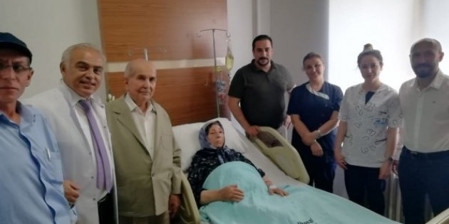 94 yaşındaki kadının kansere karşı zaferi