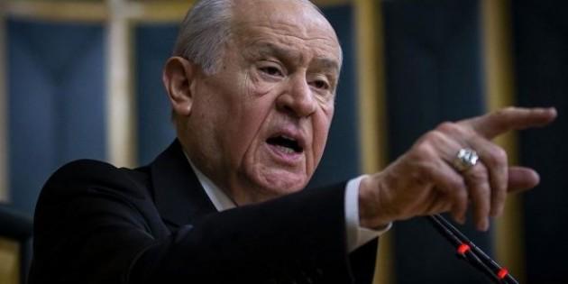 MHP Lideri Bahçeli'den yeni parti için sert açıklama