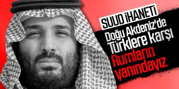 Türkiye'yi istemeyen Rumlara, Suudi Arabistan'dan destek
