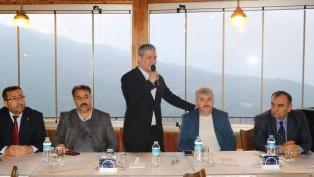 Cumhur İttifakı Belen'de IŞIK İŞÇİLERİ'ni ağırladı.