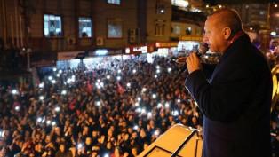 """Tarihte bir ilk """"Cumhurbaşkanı Erdoğan Belen'de"""""""
