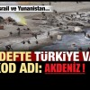 Kod adı Akdeniz: Amerika – İsrail hattındaki Türkiye