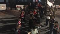 Antalya'da yakalanan göçmenler sınır dışı edildi.