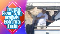 Ekrem İmamoğlu; Bodrum'daki tatiline kaldığı yerden devam etti.