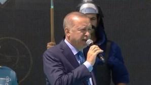 """Cumhurbaşkanı Erdoğan """"Malazgirt Zaferi"""" kutlamalarında"""