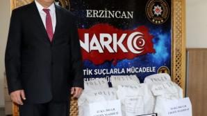Erzincan'da uyuşturucuya büyük darbe