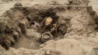 Peru'nun Başkenti Lima'da,  227 çocuk mezarı keşfedildi