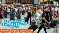 Seyahat harcamalarında değişen istatistikler