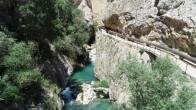 Sivas'ta kanyona atlayan genç boğuldu.