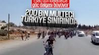 Türkiye sınırındaki suriyeli mülteci sayısı 200 Bin'i geçti