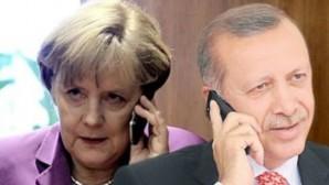 President Erdoğan meets with Merkel