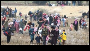Syrian refugees is increasing on the border with Turkey