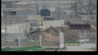 YPG / PKK closes ditches and tunnels