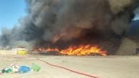Bu sefer fabrika yangını Kırıkkale'de