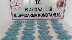 Elazığ'dauyuşturucuya büyük darbe! Tam 20 Bin adet