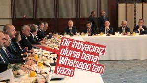 Erdoğan, belediye başkanlarıyla Whatsapp üstünden görüşecek