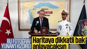"""Yunanistan Gündemi: """"Türkiye'nin 'Mavi Vatan' Fotoğrafı"""""""
