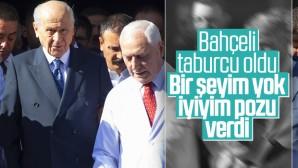 MHP Lideri Devlet Bahçeli taburcu edildi.