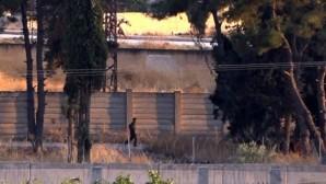 PKK / ypg'l terrorists were seen in Turkey boundary line