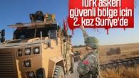 Suriye'deki ortak kara devriyesinin ikincisi tamamlandı