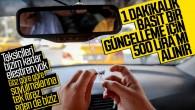 İstanbul'da Taksimetre güncelleme fiyatı 500 Türk lira