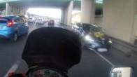 Trafikte şoke eden görüntü!