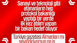 Türkiye Gazetesi'nin haberine Bakanlıktan tekzip metni