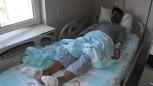 Yunan polisinin işkence yaptığı pakistanlı tedavi ediliyor