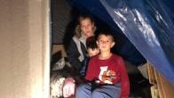 Altındağ'da bir aile iki çocuklu ile sokakta kaldı