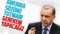 """Erdoğan: """"sözler tutulmadı. Gereken yapılacak"""""""