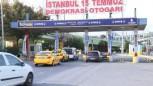 Esenler Otogarı'ndaki taksicilerden bekleme parası