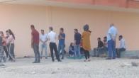 Mardin'de evi zarar gören ailelere kirasız ev verildi