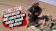 Mehmetçik'ten SMO askerine ders! Önce Emniyet!