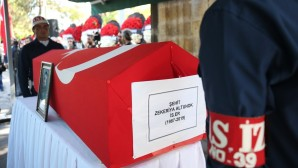 Şehit Altunok'un Kayseri'deki cenaze töreni
