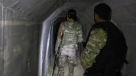 YPG tarafından kazılan tünelleri TSK tespit etti.