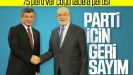 Davutoğlu'ndan yeni parti için açıklama geldi