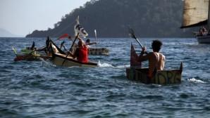 Maket tekne yarışları Muğla'da ilgi gördü