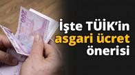TUİK'in pes dedirten asgari ücret önerisi!