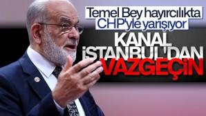 """Karamollaoğlu; """"Kanal İstanbul durdurulsun"""""""