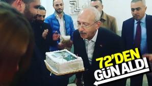 Kılıçdaroğlu, doğum gününü kutladı