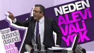 """Meclis'te """"ALEVİ VALİ"""" tartışması"""
