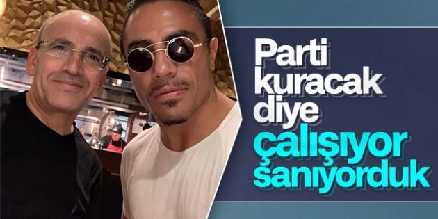 Mehmet Şimşek ile Nusret'ten Öz Çekim!