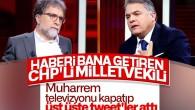 Talat Atilla, kaynağının CHP'li vekil olduğunu söyledi