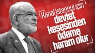 Temel Karamollaoğlu, Kanal İstanbul projesine karşı çıktı