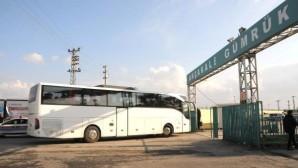 500 Suriyeli Akçakaleden evine dönüyor.