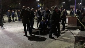 Bursa'da silahlı saldırı olayı kameralarda